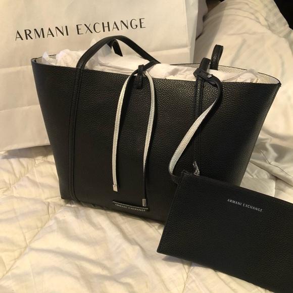 Armani Exchange reversible tote bag 👜 e97f2d98ee8ed